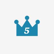 5つの特長の図